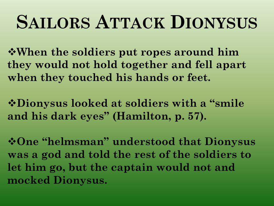 Sailors Attack Dionysus