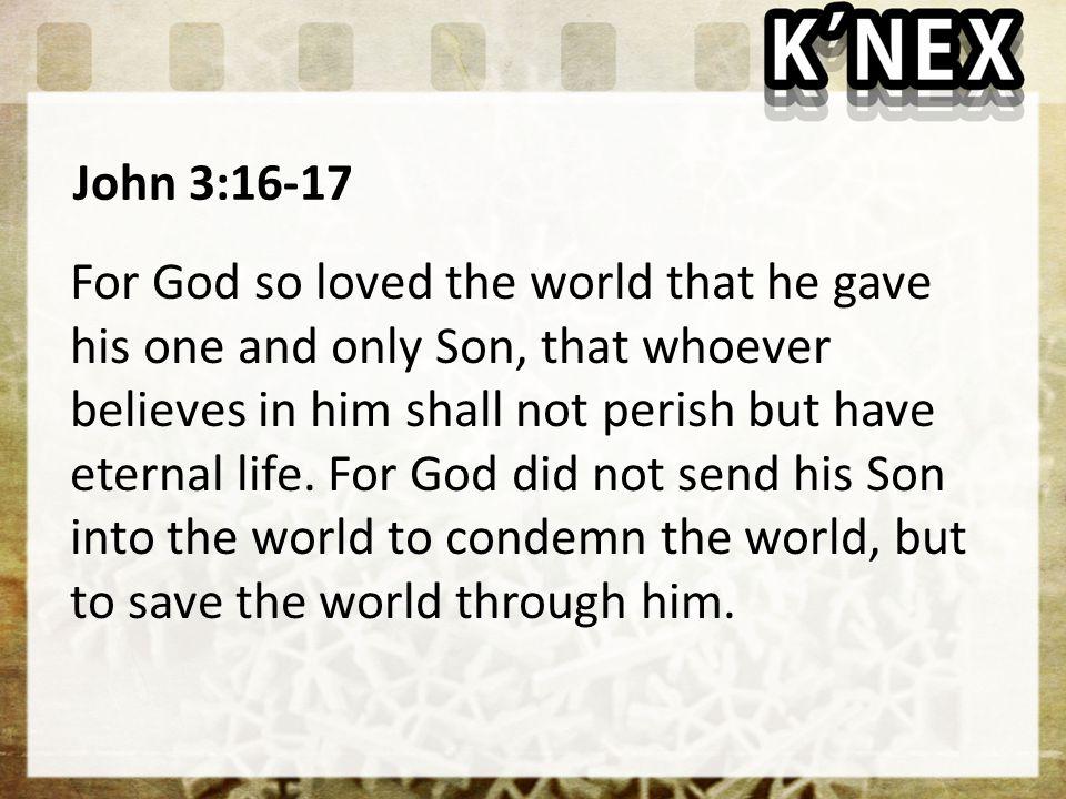 John 3:16-17