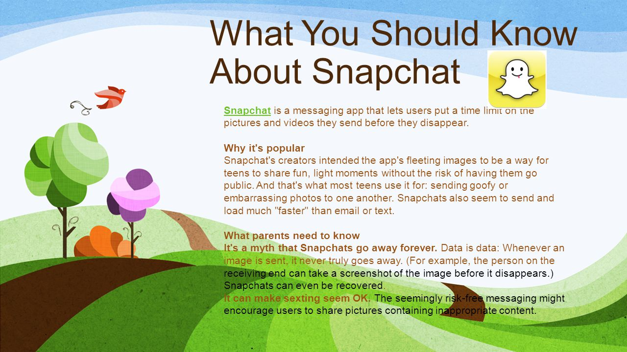 What You Should Know About Snapchat