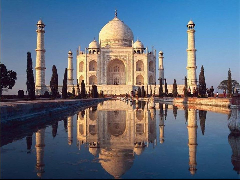 2. India - See card Lord s Supper ~ To the Memory of a Dying Love - Taj Mahal