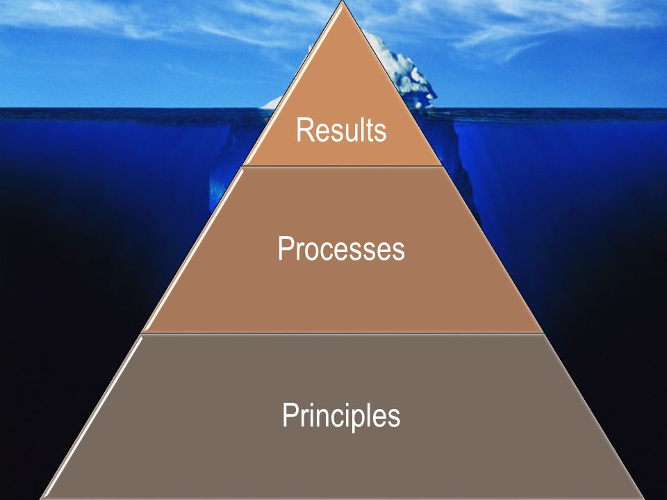 Processes Principles Results Situation: