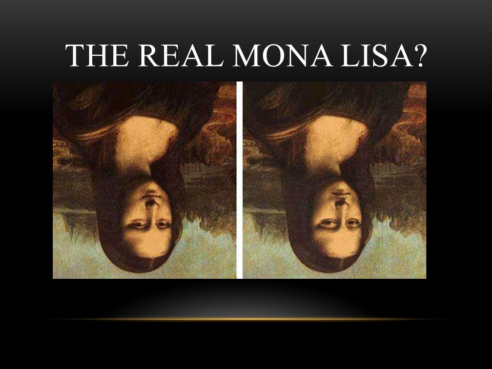 The Real Mona Lisa Facilitator Notes
