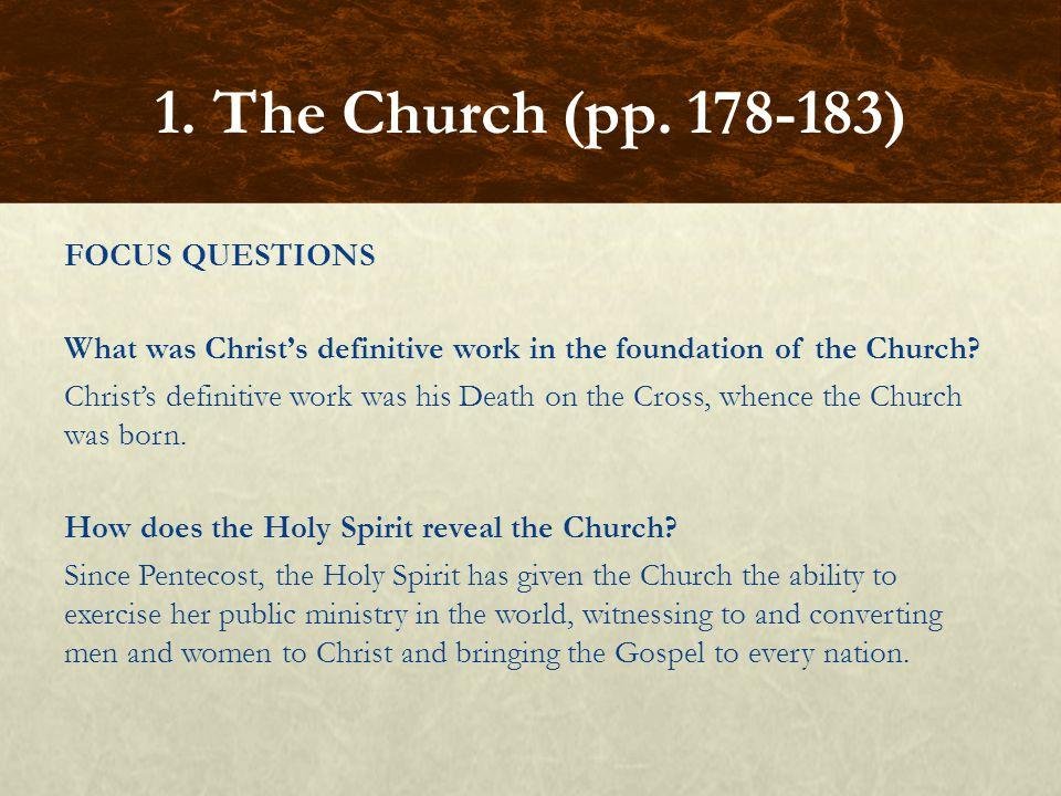 1. The Church (pp. 178-183)