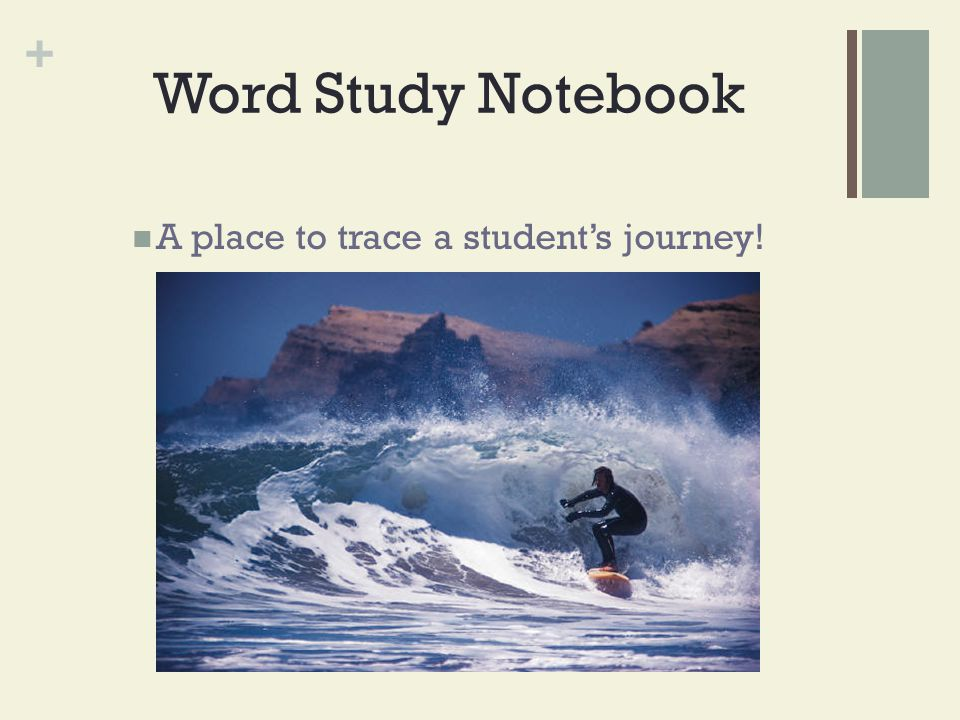 A place to trace a student's journey!