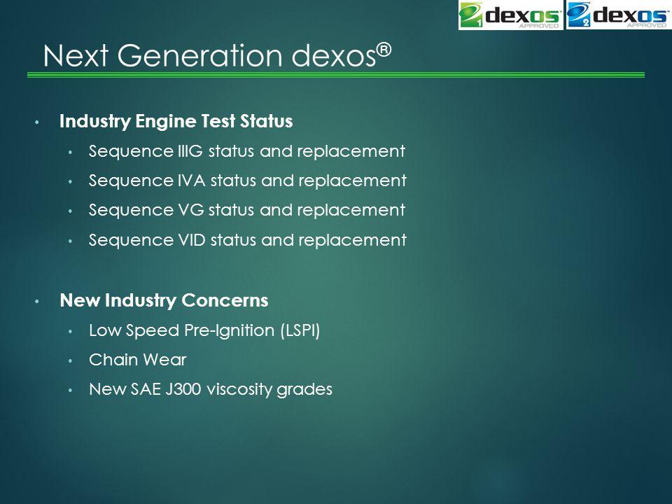 Next Generation dexos®
