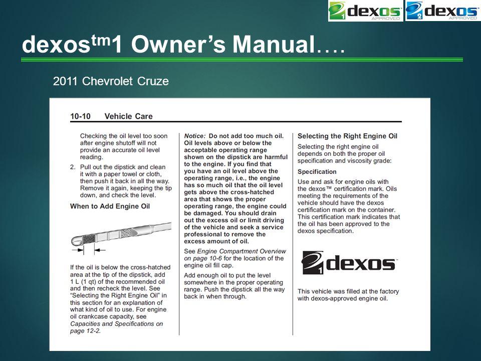 dexostm1 Owner's Manual….