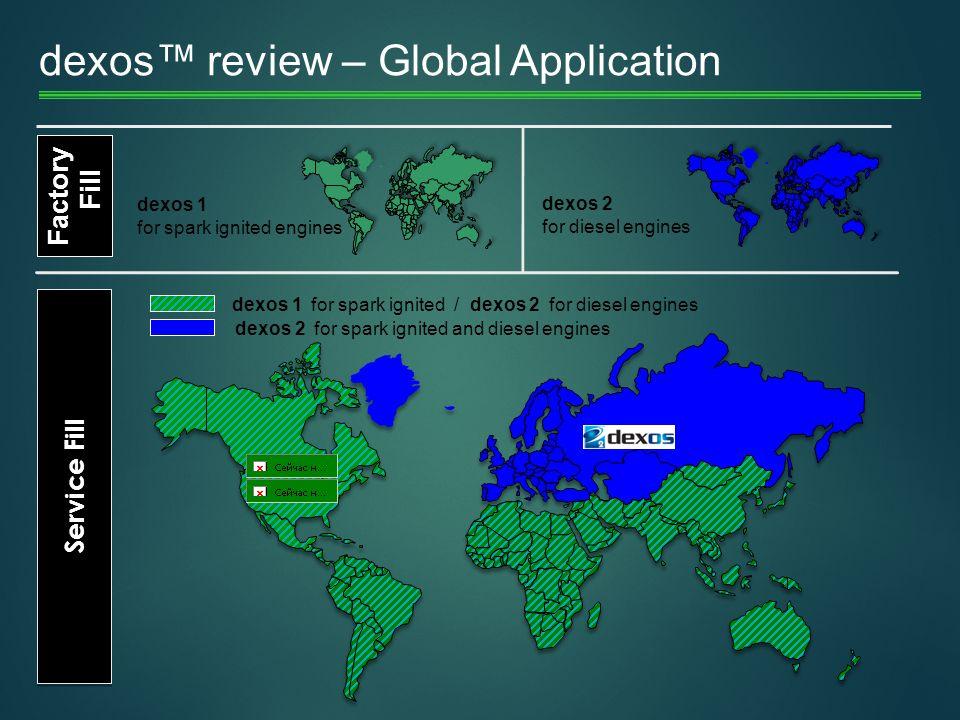 dexos™ review – Global Application
