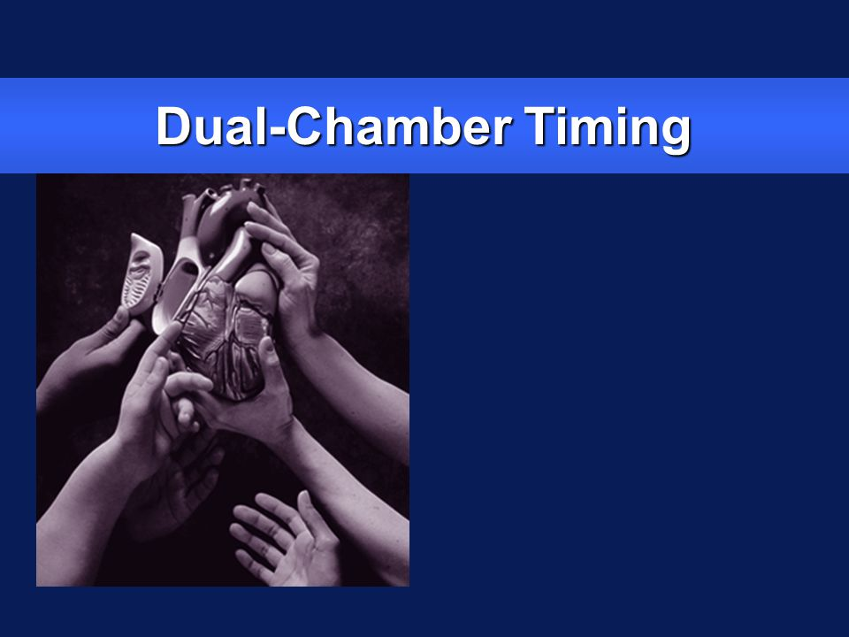 Dual-Chamber Timing