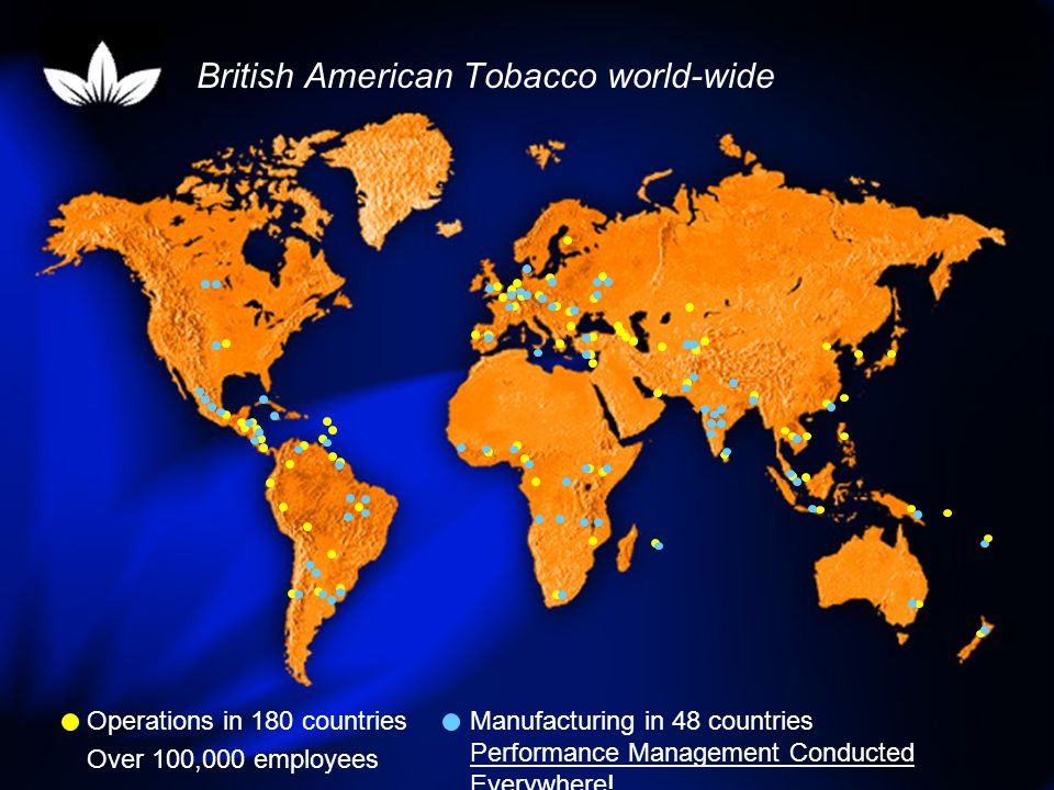 British American Tobacco world-wide