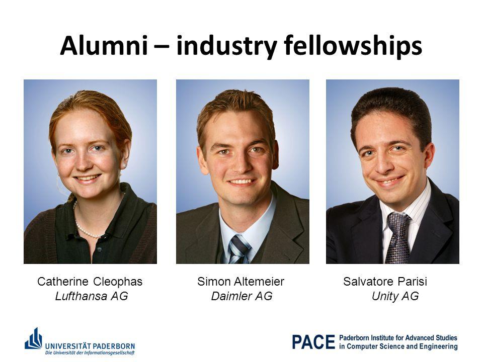 Alumni – industry fellowships