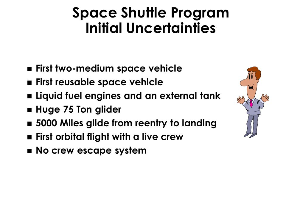 Space Shuttle Program Initial Uncertainties