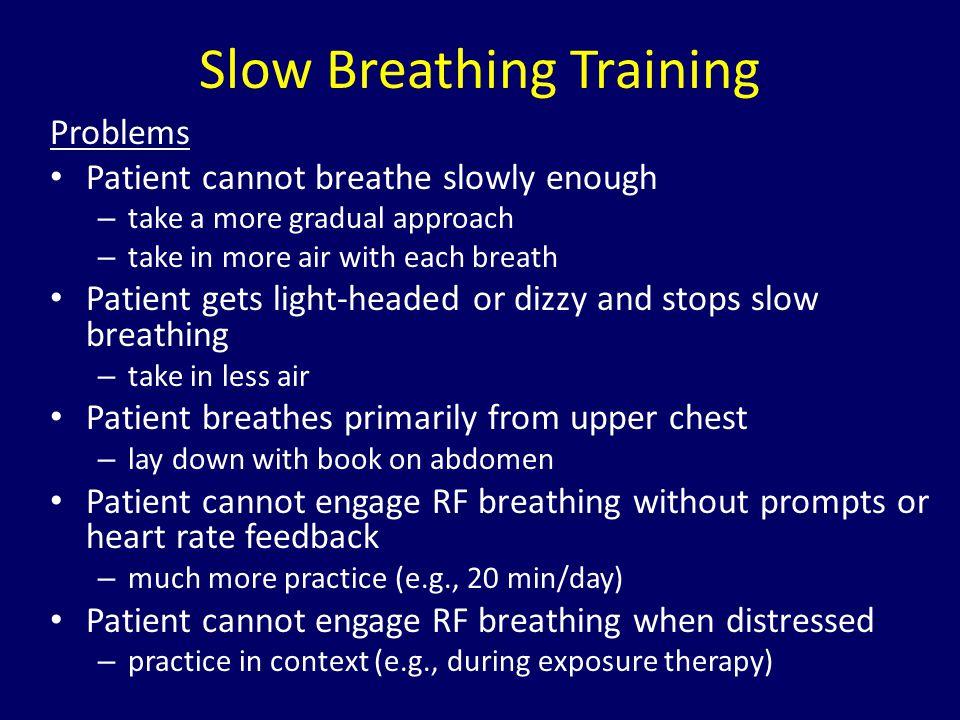 Slow Breathing Training