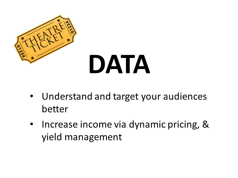 DATA Understand and target your audiences better