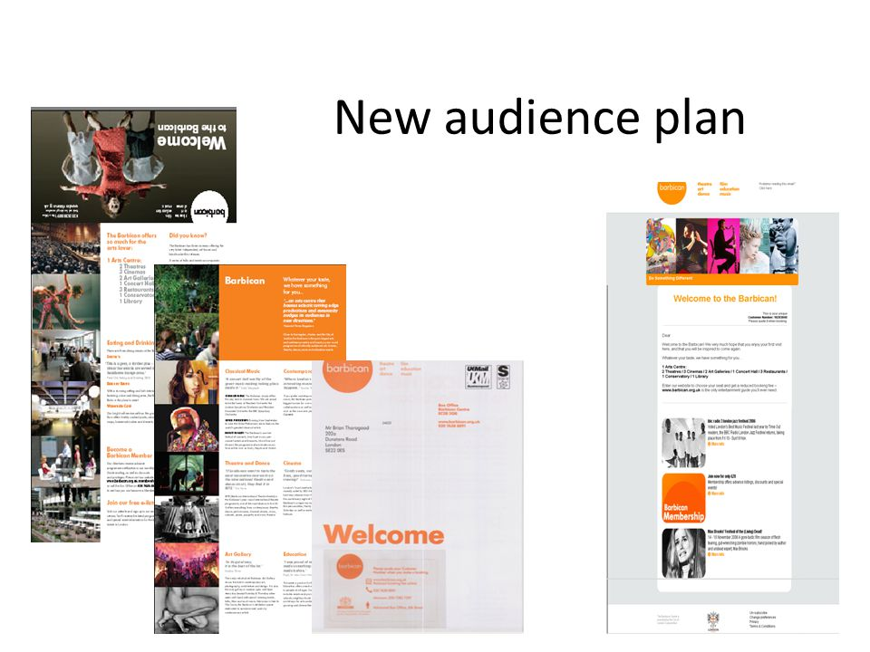 New audience plan