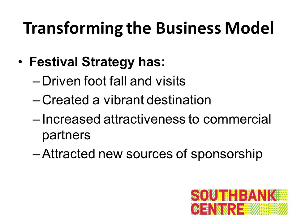 Transforming the Business Model