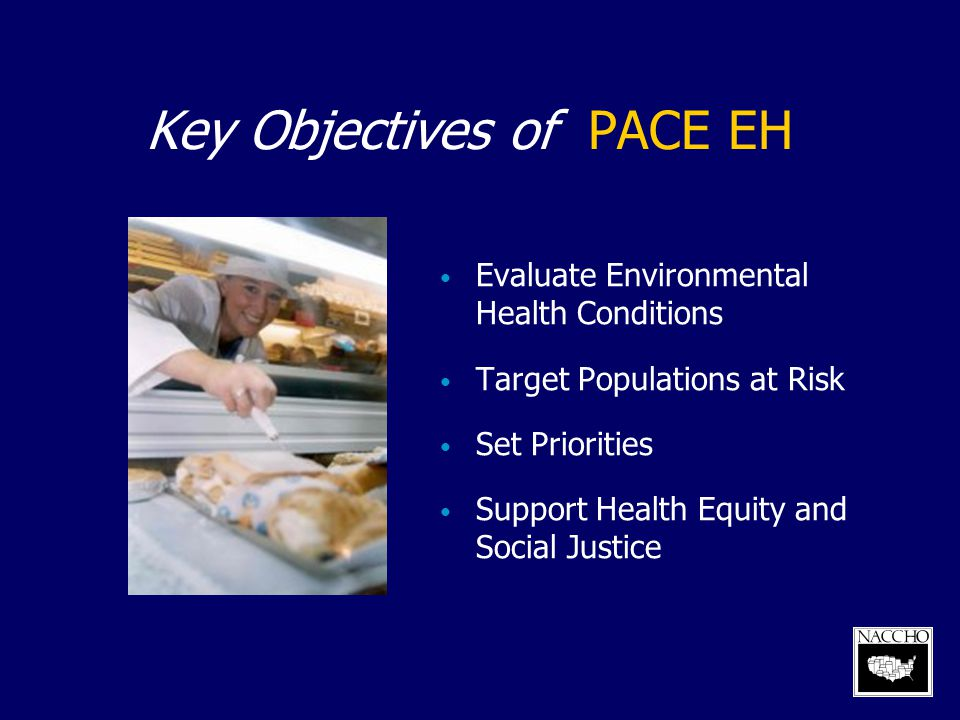 Key Objectives of PACE EH