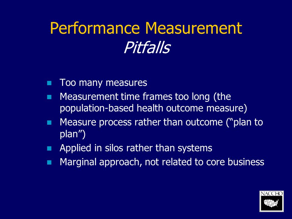 Performance Measurement Pitfalls