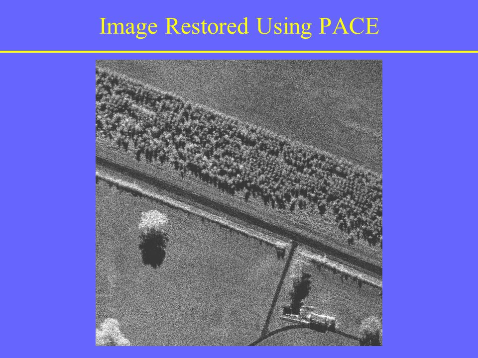 Image Restored Using PACE