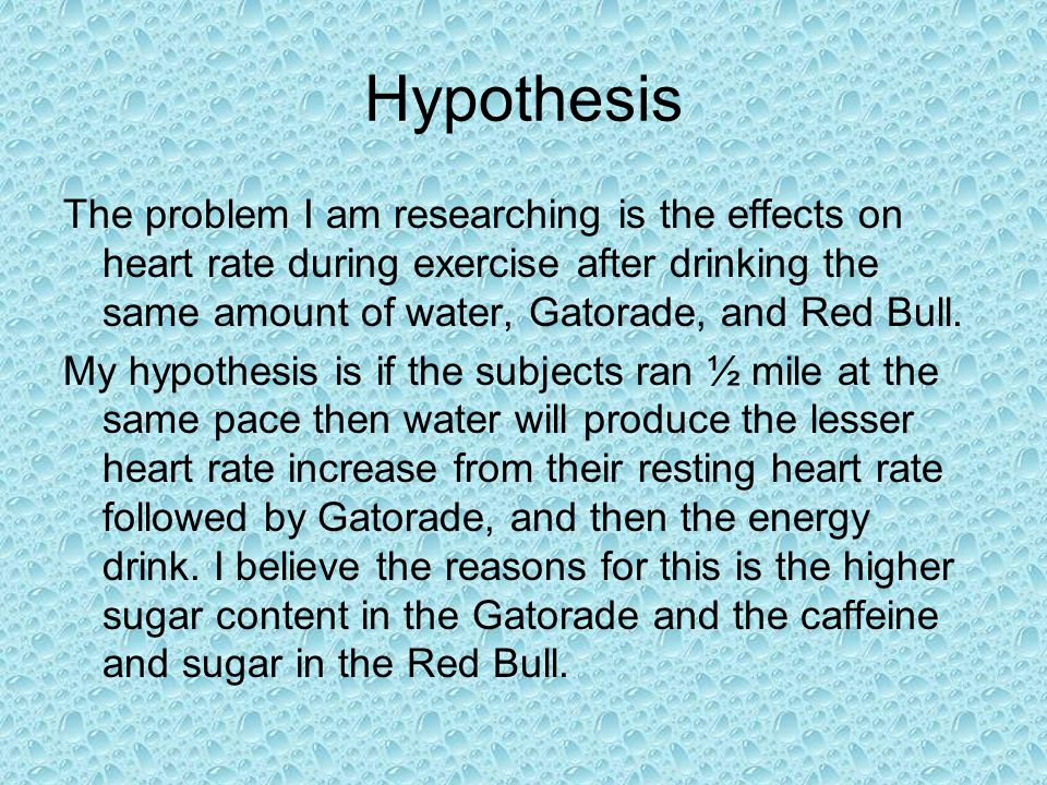 effect of caffeinated sports drink exercise and heart rate Caffeine triggers an increase in blood circulation, heart rate,  drink caffeine containing  diuretic effect in fact, during exercise, caffeinated beverages.