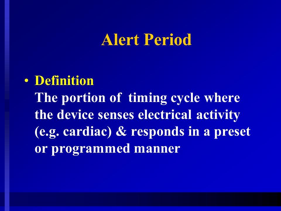 Alert Period