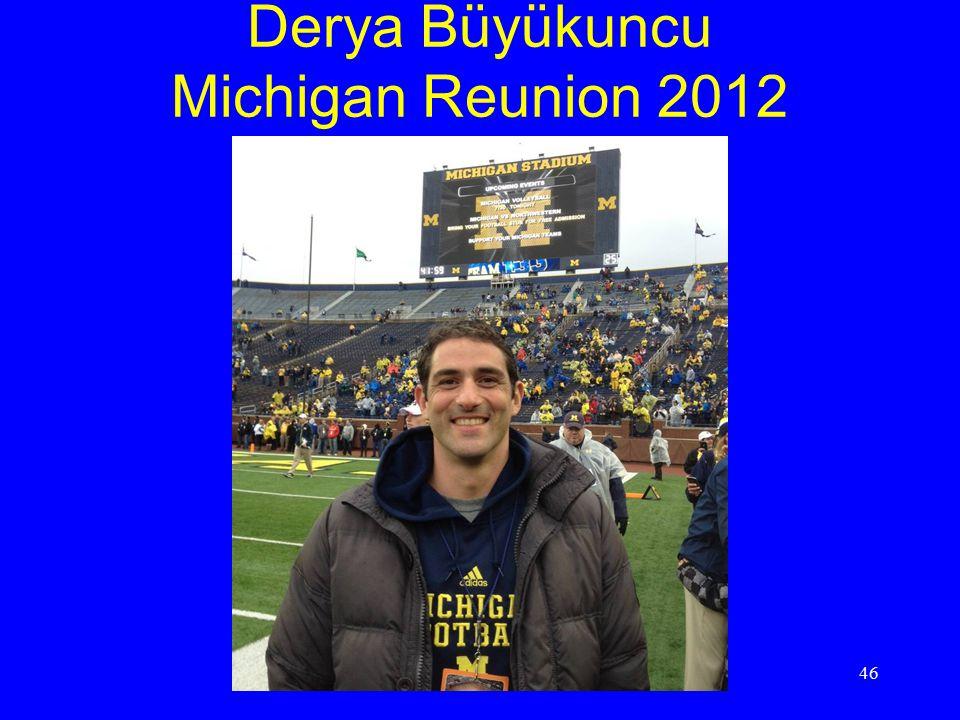 Derya Büyükuncu Michigan Reunion 2012