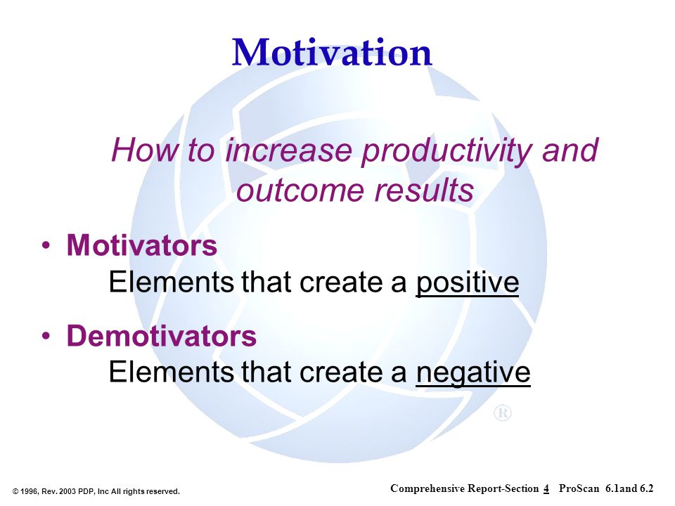How to increase productivity and outcome results