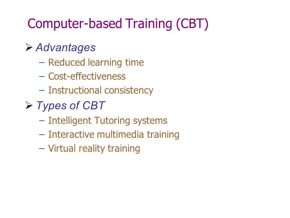 Computer-based Training (CBT)