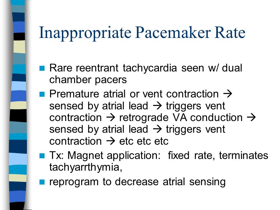 Inappropriate Pacemaker Rate