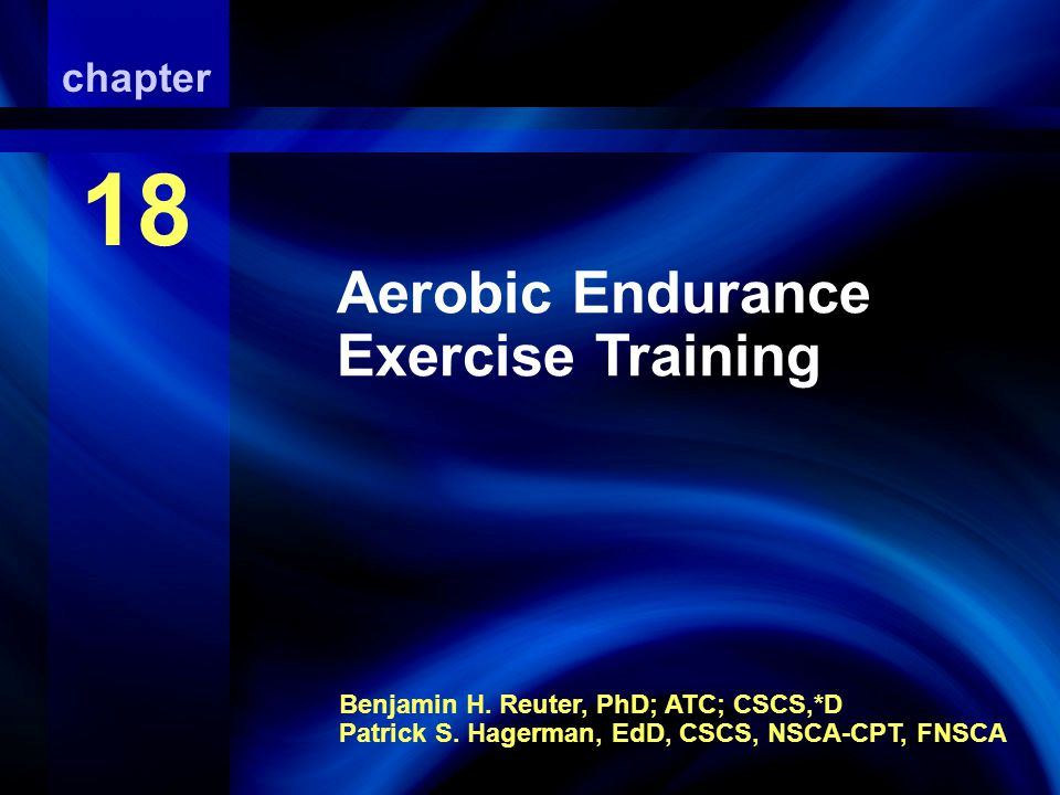 Aerobic Endurance Exercise Training