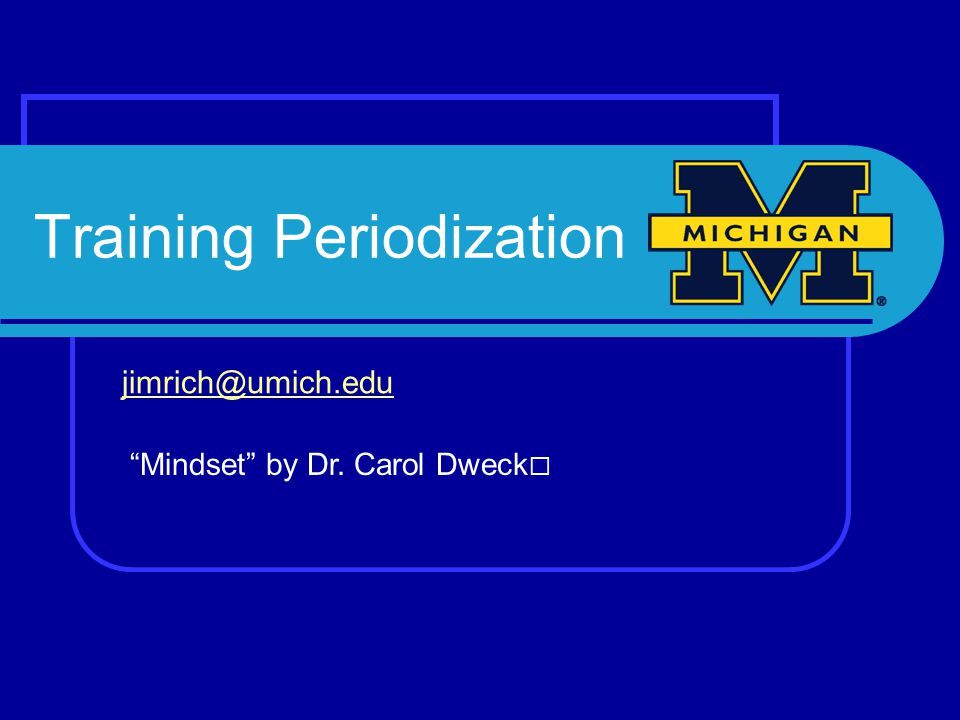 Training Periodization