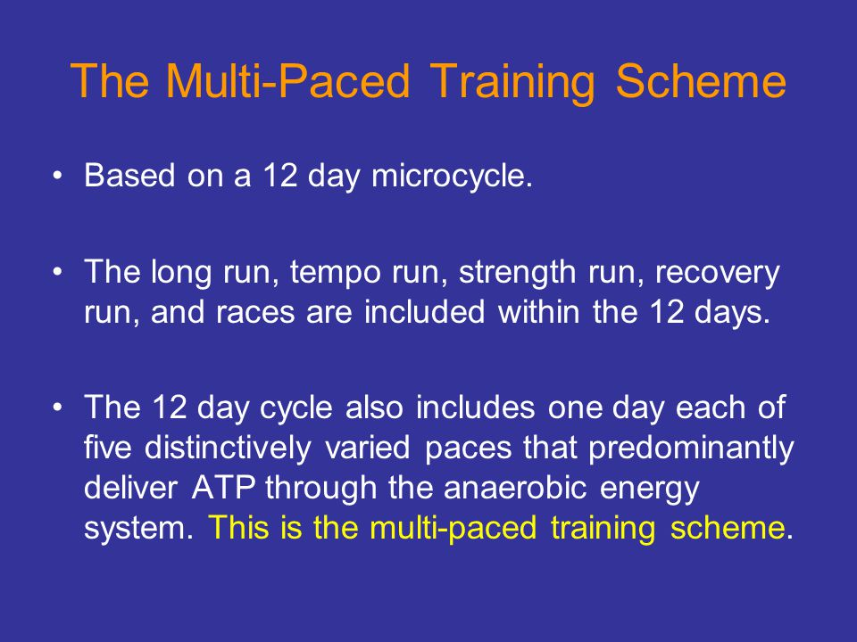 The Multi-Paced Training Scheme
