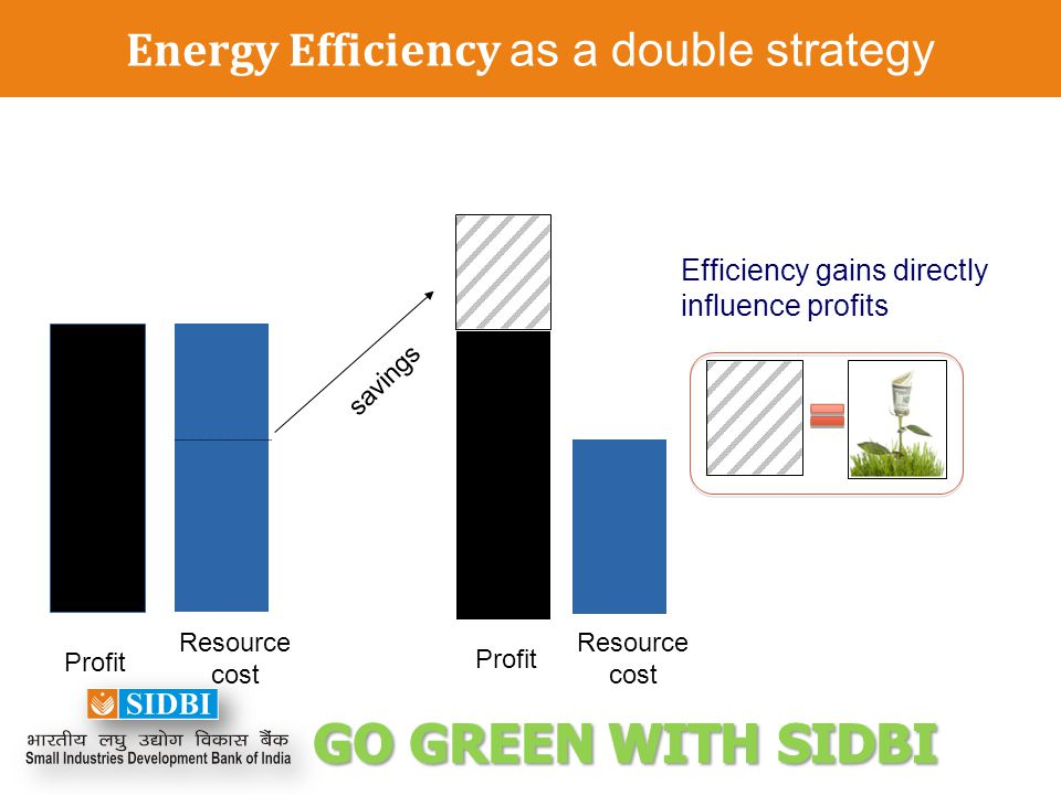 Energy Efficiency as a double strategy