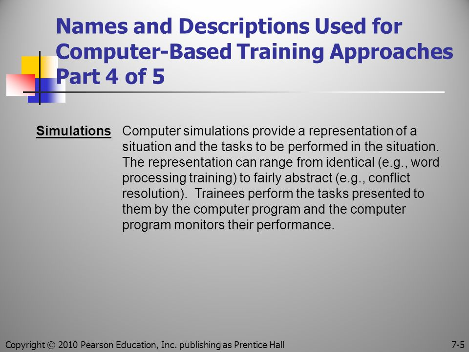 Copyright © 2010 Pearson Education, Inc. publishing as Prentice Hall
