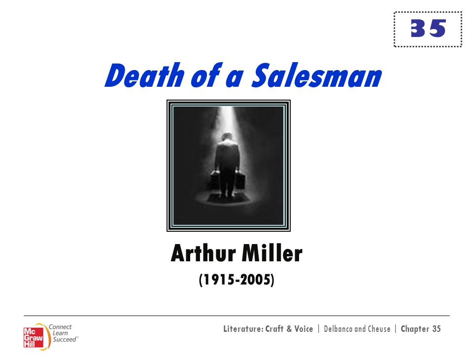 35 Death of a Salesman Arthur Miller (1915-2005)