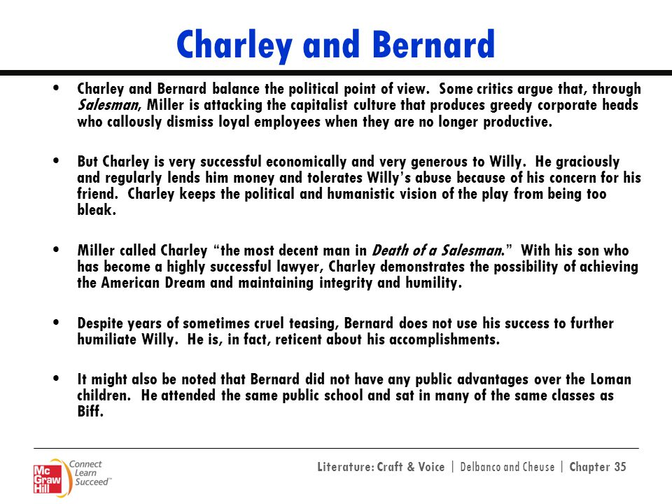 Charley and Bernard