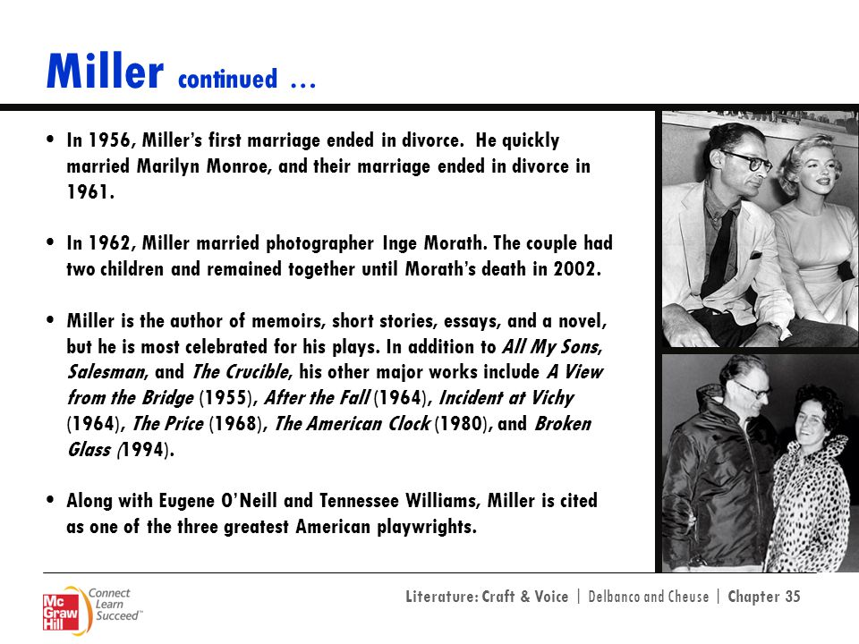 Miller continued …