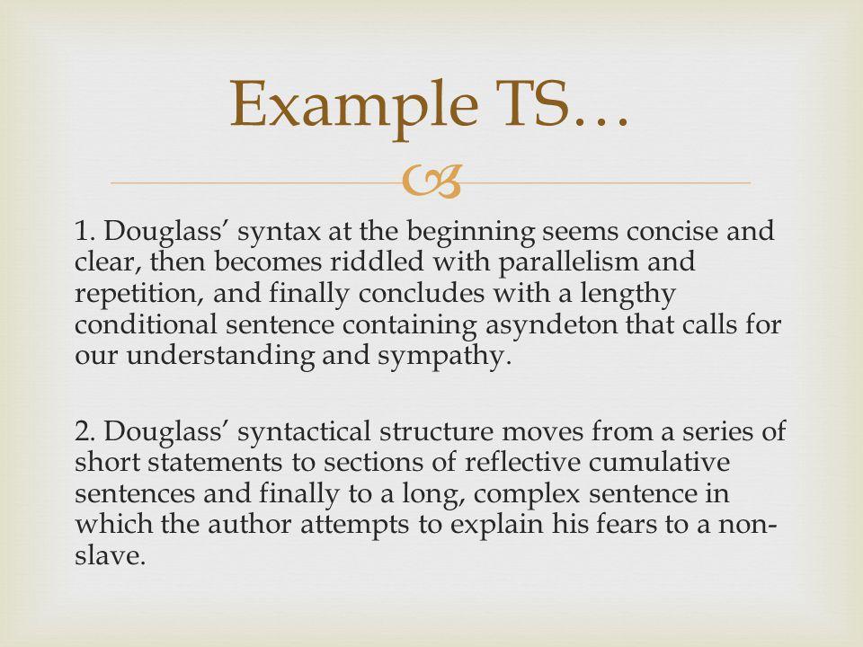 Example TS…