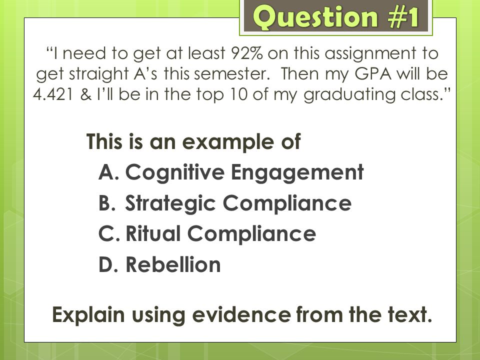 Explain using evidence from the text.