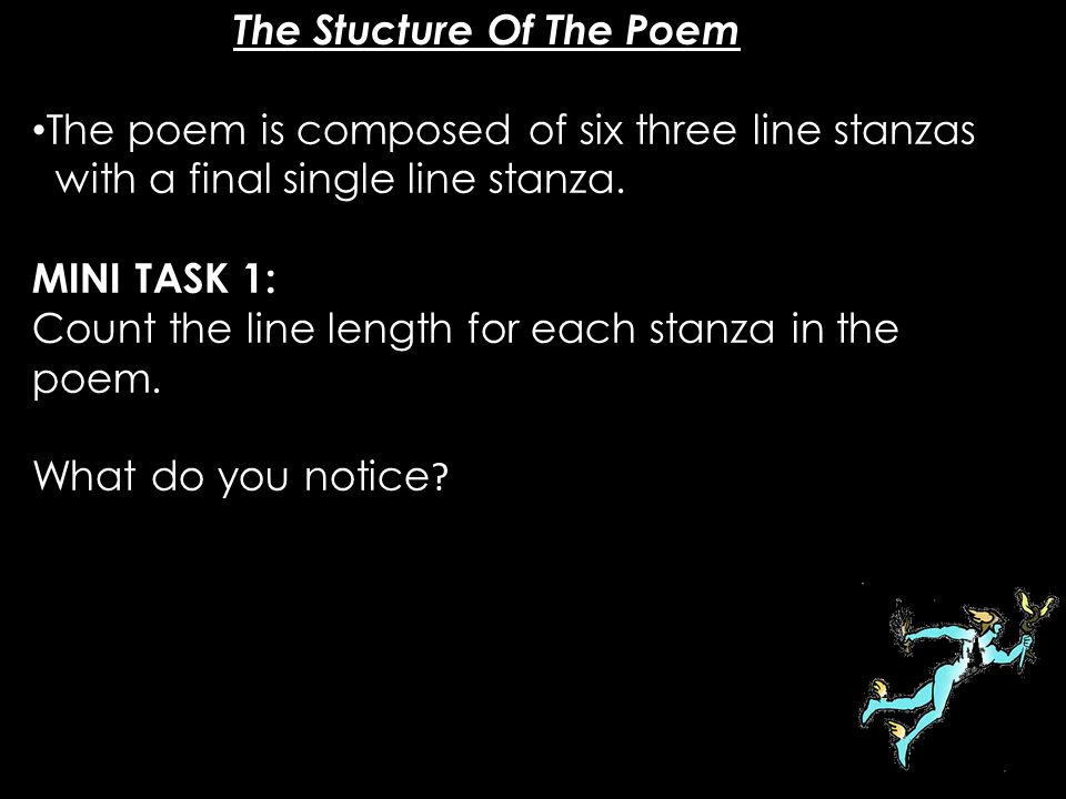 The Stucture Of The Poem