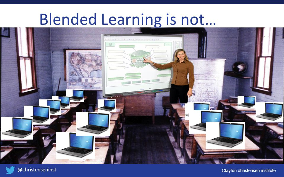 Blended Learning is not…