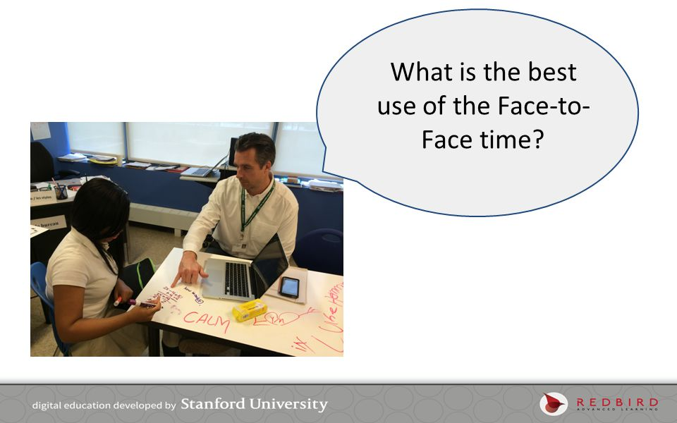 What is the best use of the Face-to-Face time