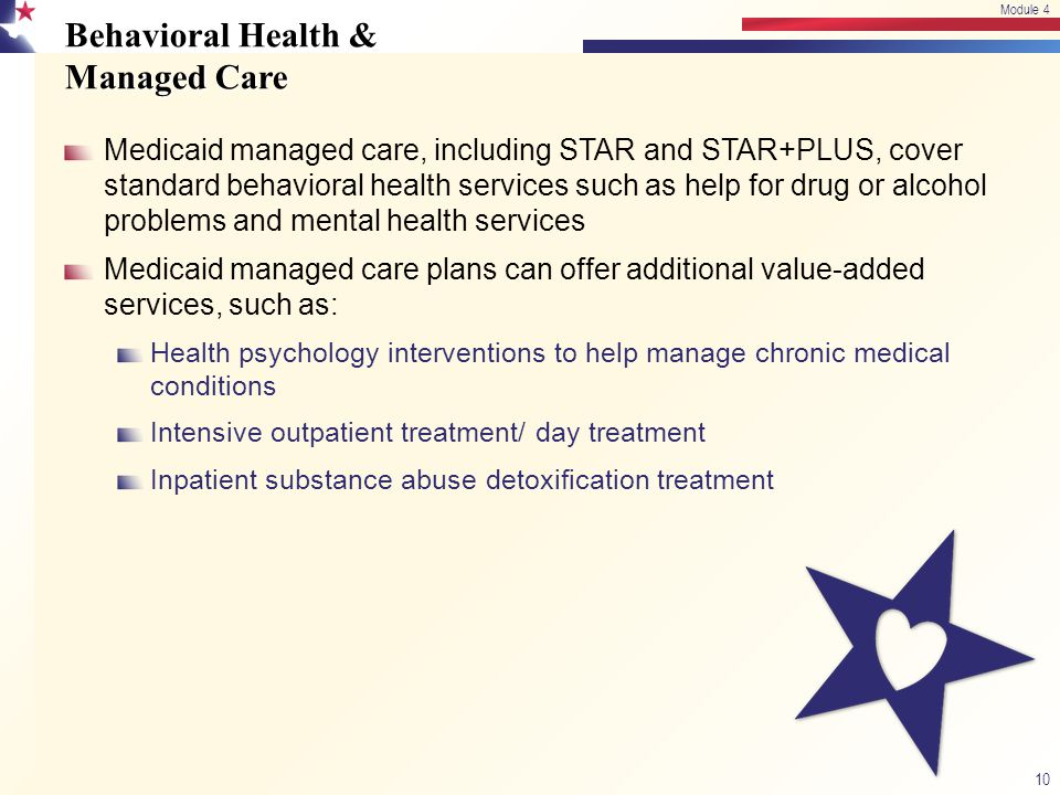 Behavioral Health & Managed Care