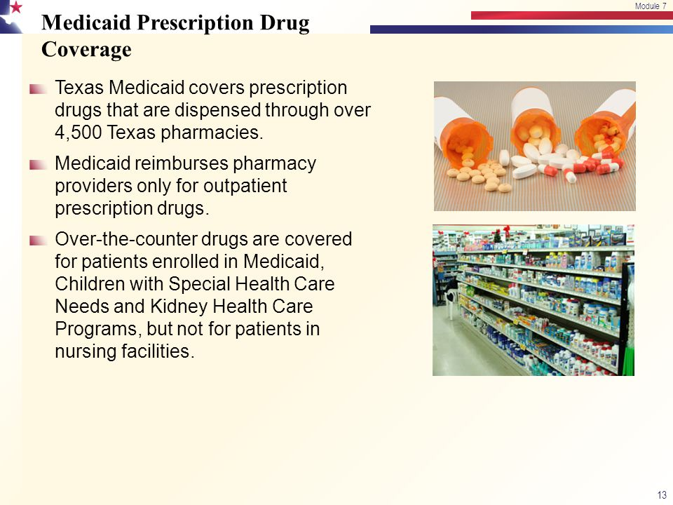 Medicaid Prescription Drug Coverage