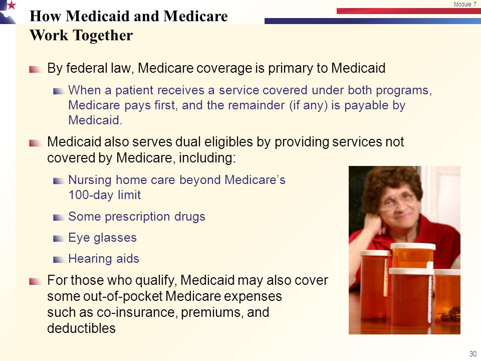 How Medicaid and Medicare Work Together