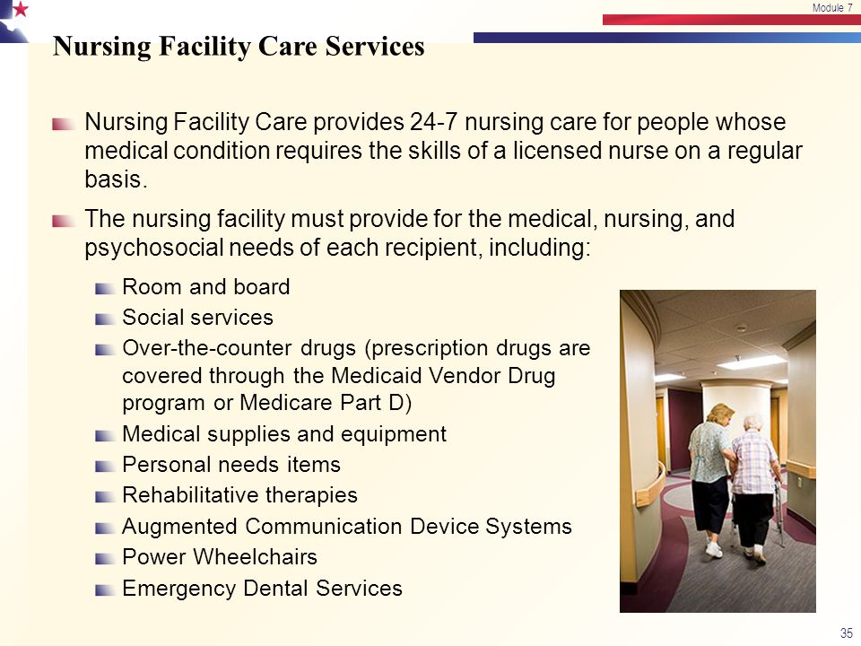 Nursing Facility Care Services