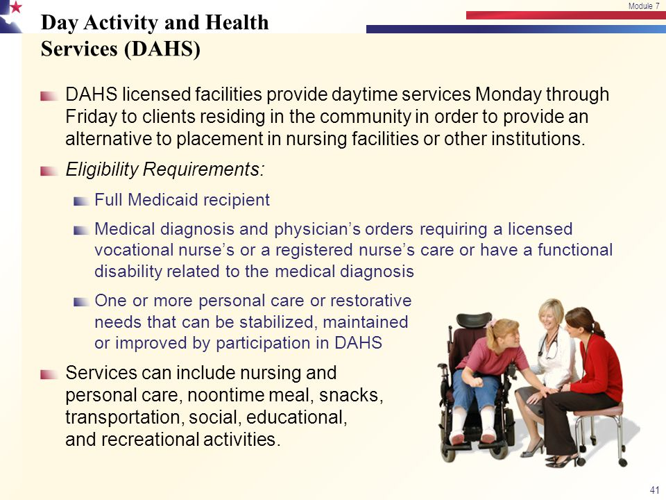 Day Activity and Health Services (DAHS)