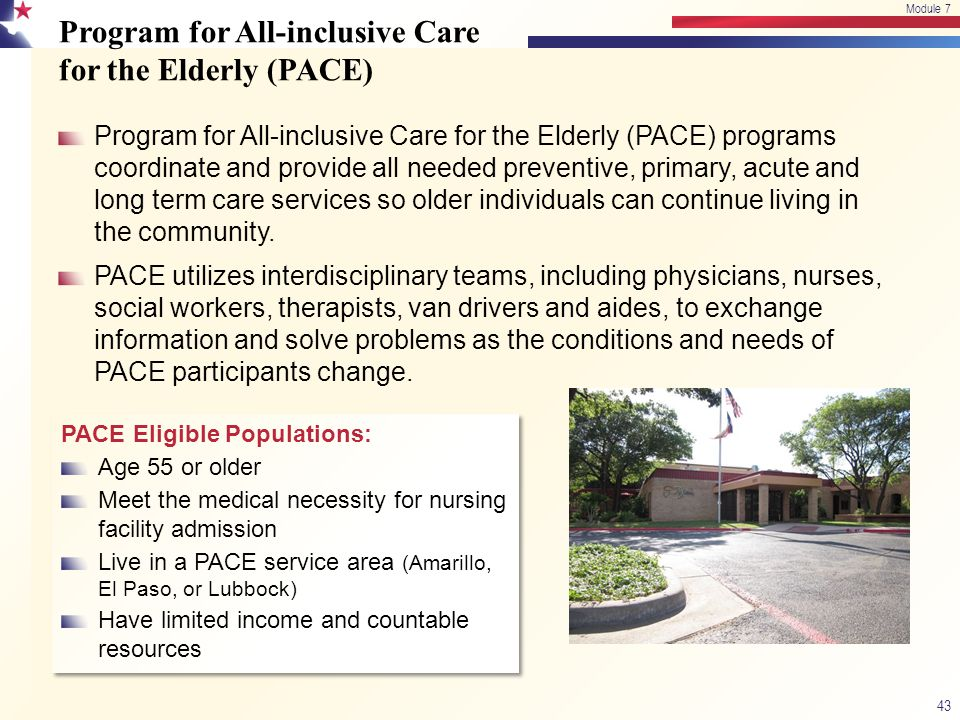 Program for All-inclusive Care for the Elderly (PACE)