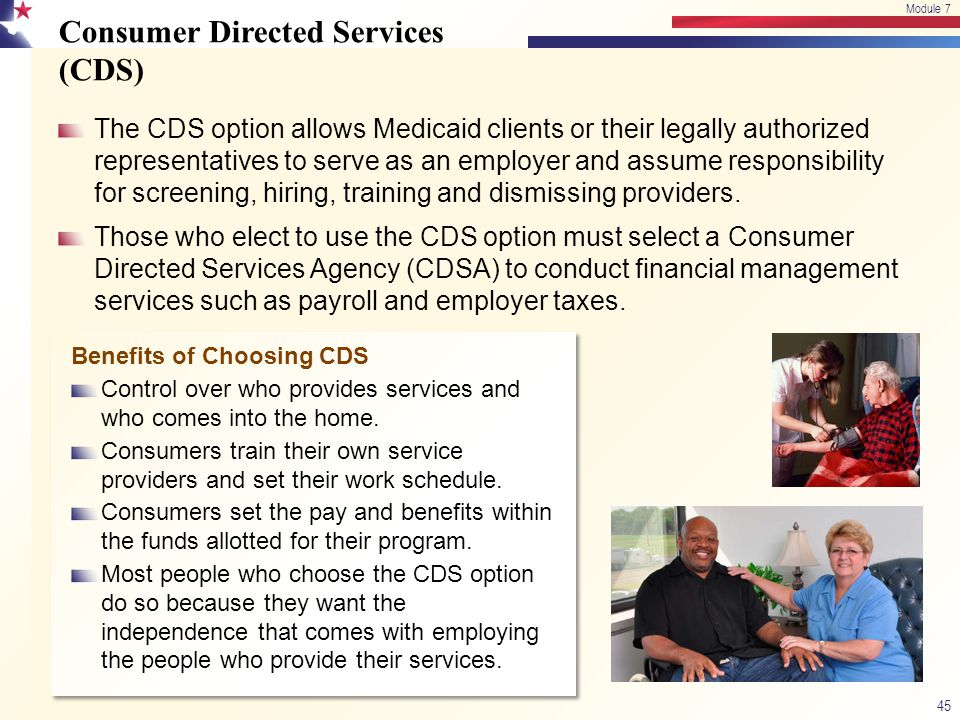 Consumer Directed Services (CDS)