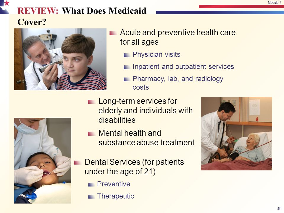 REVIEW: What Does Medicaid Cover
