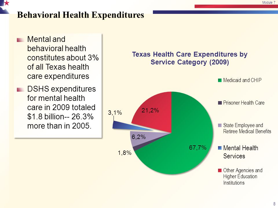 Behavioral Health Expenditures